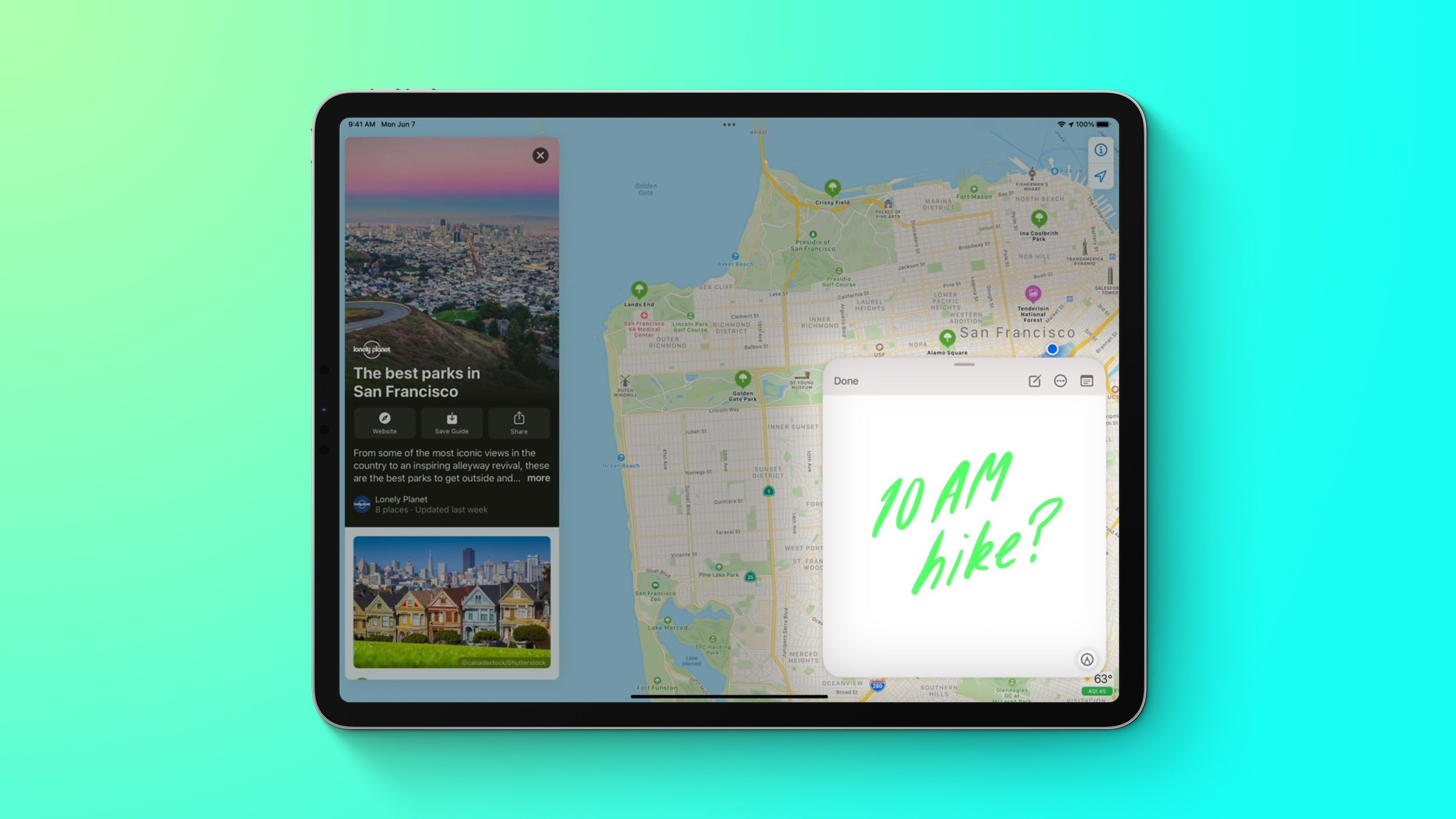 iPadOS 15: How to Use Quick Notes