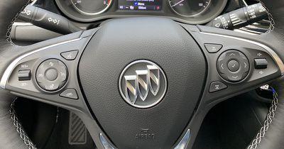 buick regal steering wheel