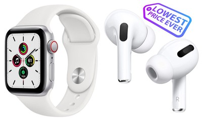 apple watch airpods low price