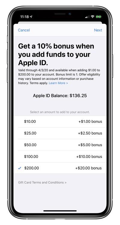 app store bonus
