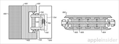 band actuator Apple Watch patent