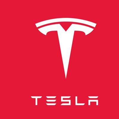 tesla apple logos