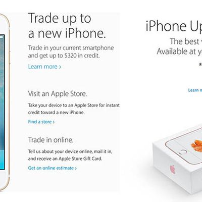 iPhone Upgrade Apple